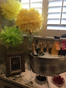 Mimosa bar was also a guest favorite!