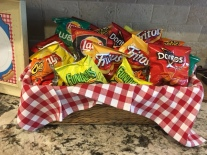 Grab and go chips keep things easy and fun.