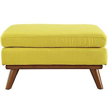 LexMod Engage Fabric Ottoman From Overstock $249.99 Shopping